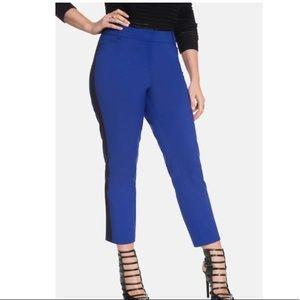 ELOQUII Kady' Side Stripe Ankle Pants Size 24